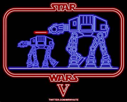 Wars Star Neon Signs Animated Awesome Geekologie