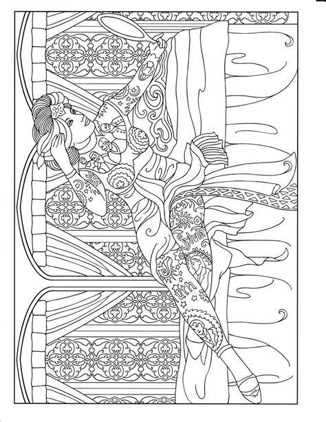 92 best images about Body Art Tattoo Coloring Pages for Adults on Pinterest