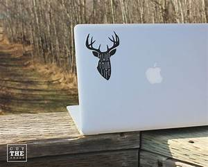 Rewild Your Life Laptop Decal Laptop Sticker Car By