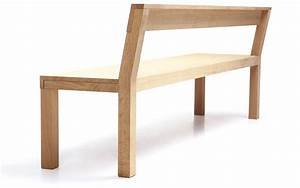 STATO Bench With Back Stato Collection By More Design