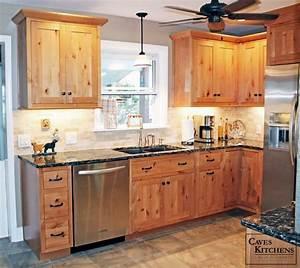 Alder & Knotty Alder Inspirations Reeds Custom Cabinets