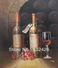 online get cheap wine bottle kitchen decor grapes