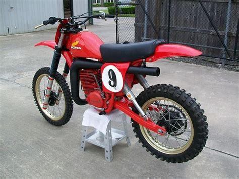 Smith Honda by Marty Smith S Factory Honda Rc500 Vintage Mx Honda
