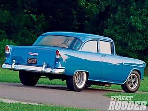 Glacier Blue 55 Chevy Rear Pictures