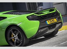 A Supercar on Acid McLaren 650S Coupe in Green