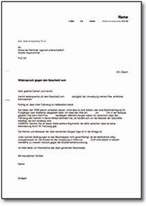 Widerspruch Rechnung Frist : widerspruch gegen abschleppen eines pkw de musterbrief download ~ Themetempest.com Abrechnung