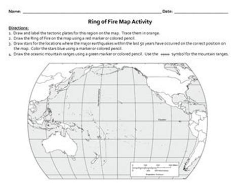 ring of map activity activities students and map