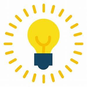 Lightbulb on - Transparent PNG & SVG vector