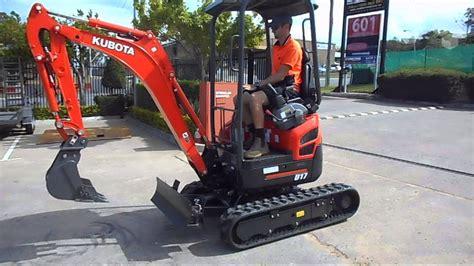 kubota  mini excavator unit youtube