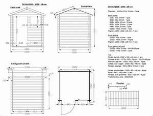 plan de cabanon en bois plan cabanon bois sur With plan cabane de jardin