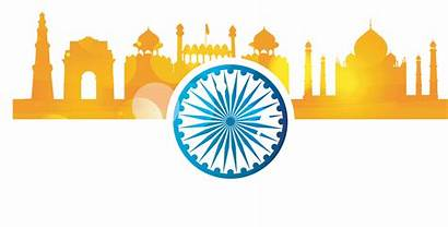 Flag India Vector Clipart Tourism Indian Festival