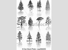 Trees Tree silhouettes