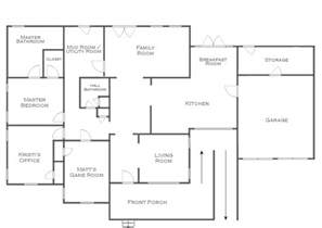 make a floor plan of your house current and future house floor plans but i could use your input current and future state