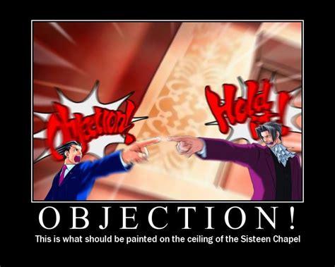 Objection Meme - image 4597 phoenix wrong phoenix wright parodies know your meme
