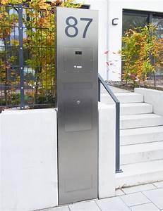 Briefkasten Freistehend Mit Hausnummer : stelen max knobloch nachf gmbh ~ Sanjose-hotels-ca.com Haus und Dekorationen