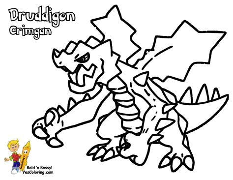Powerhouse Pokemon Coloring Pages To Print