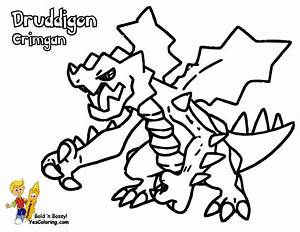 Powerhouse Pokemon Coloring Pages To Print | YESCOLORING ...
