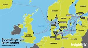 How do I get a freight ferry from UK to Norway ...