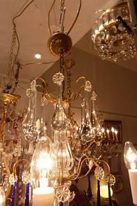 Lustre Pampilles Cristal : lustre pampilles cristal 8 lumi res puces priv es ~ Teatrodelosmanantiales.com Idées de Décoration