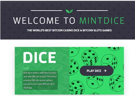 Best bitcoin casinos for real money 2021. Mint Dice- The new Bitcoin Casino to play slots in 2020