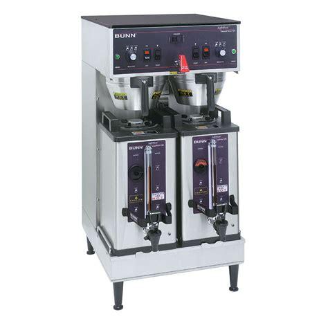 Bunn SH DUAL 0002 Dual SH Dual Satellite Coffee Brewer, Stainless, 120/240v (27900.0002)