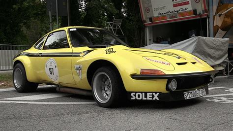72 Opel Gt by 1972 Steinmetz Opel Gt 4 Sound Accelerations At