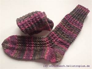 Socken Stricken Mit Muster : socken im rosenzoepfchen muster kerstins strickwerk ~ Frokenaadalensverden.com Haus und Dekorationen