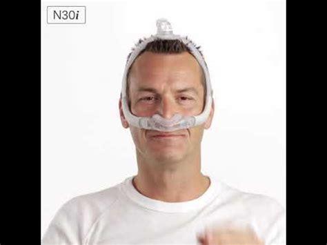 resmed airfit ni fitting tips nasal cradle cpap