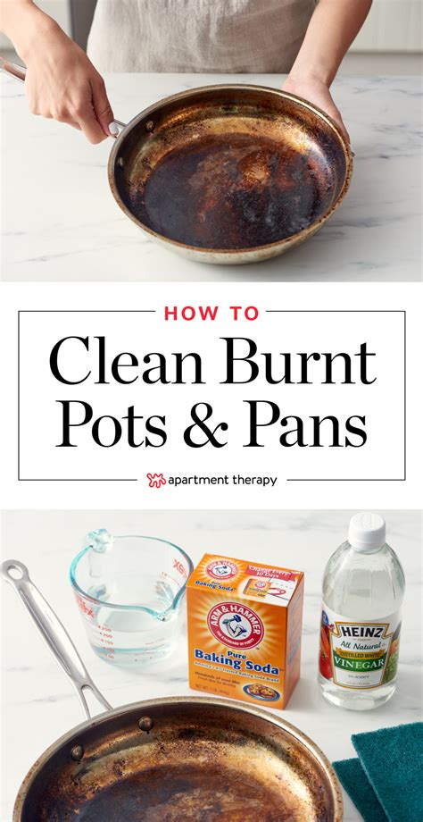 burnt clean pot pots pan pans scorched