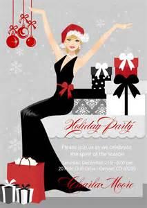 Elegant Christmas Party Invitations - Holiday Invitation