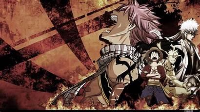 Naruto Piece Fairy Tail Luffy Natsu Anime