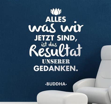 spruch buddha tenstickers