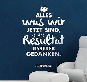 Buddha Sprüche Bilder : spruch buddha tenstickers ~ Orissabook.com Haus und Dekorationen