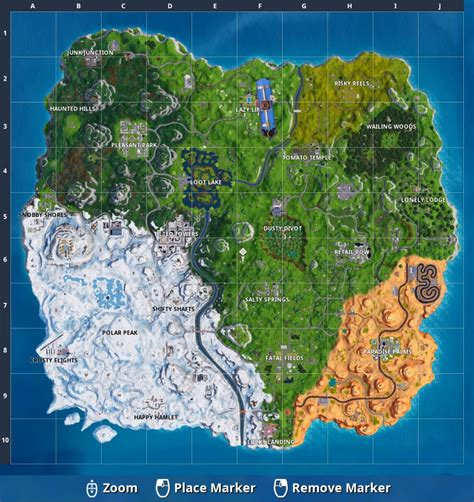 fortnites map   whats   season  gamespot