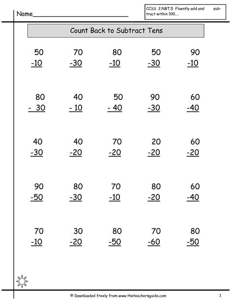 multi digits addition and subtraction worksheet single digit addition worksheets from the s guide