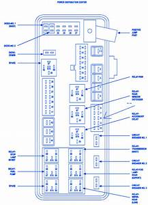 Dodge Magnum 2007 Distribution Fuse Box  Block Circuit Breaker Diagram