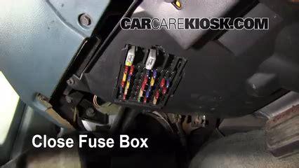interior fuse box location   buick lesabre