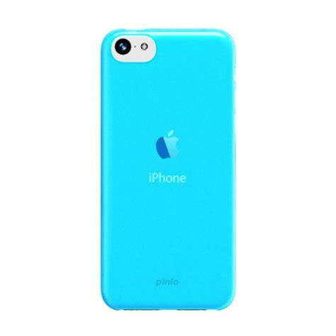 blue iphone 5c pinlo slice 3 for iphone 5c blue transparent
