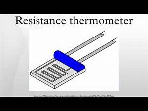 Resistance thermometer - YouTube