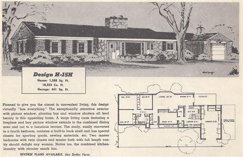 Retro House Plans Pictures by Vintage House Plans 15h Antique Alter Ego