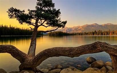Lake Landscape Sunset 10wallpaper Landscapes Amazing