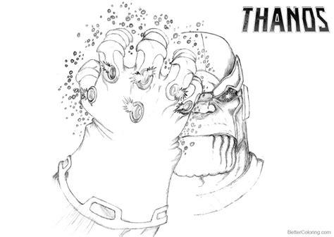 Kleurplaat Fortnite Thanos by Kleurplaat Fortnite Thanos