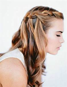 Dégradé Mi Long : coiffure cheveux mi long degrade attache ~ Melissatoandfro.com Idées de Décoration