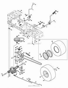 Mtd 13a277xs299  247 203710   T1000   2014  Parts Diagram