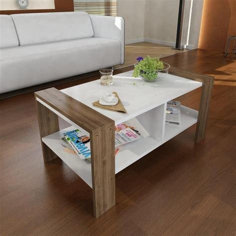 Who says your coffee table decor has to go on top of the table? Modern Home Accents Coffee Tables - Carlson Modern Coffee Table | Mesas de centro minimalistas ...