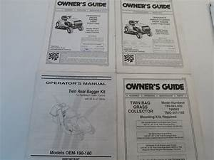 Mtd Owner Operator U0026 39 S Manual Guide For 660