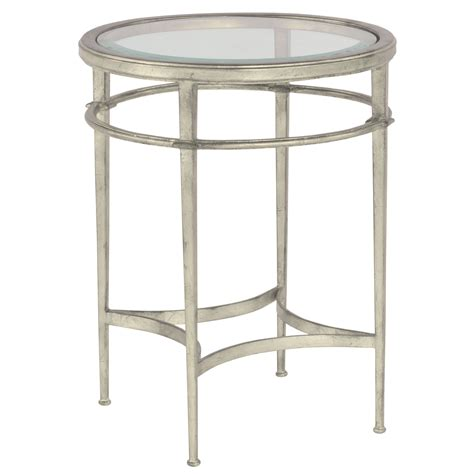 12 in accent table maddy accent table silver luxe home company 3801