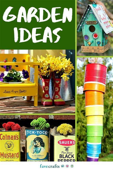 craft outside 84 diy garden ideas favecrafts