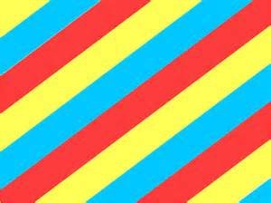 Red and Yellow Stripes Clip Art