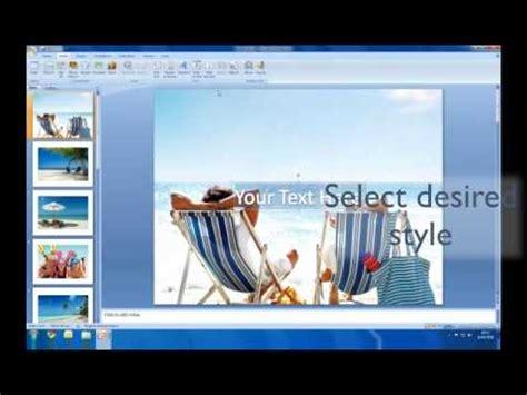 create  slideshow  powerpoint youtube